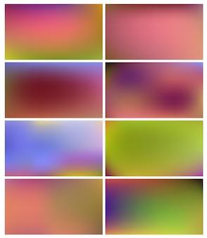 光のある抽象的なパノラマ。自然の背景
