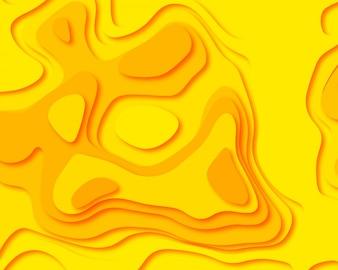 Абстрактная бумага вырезать красочный фон иллюстрации
