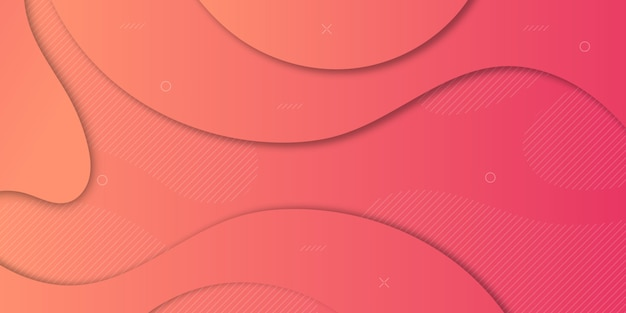 Abstract paper cut gradient background