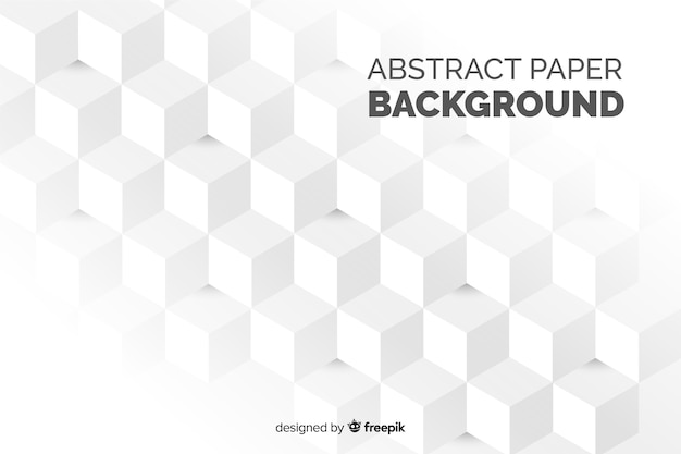 Abstract paper effect background