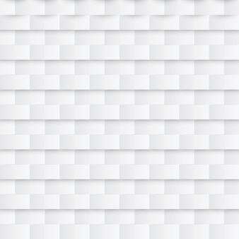 Абстрактный бумажный бесшовный образец. белый геометрический фон