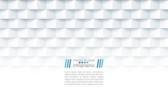 Абстрактный бумажный шаблон