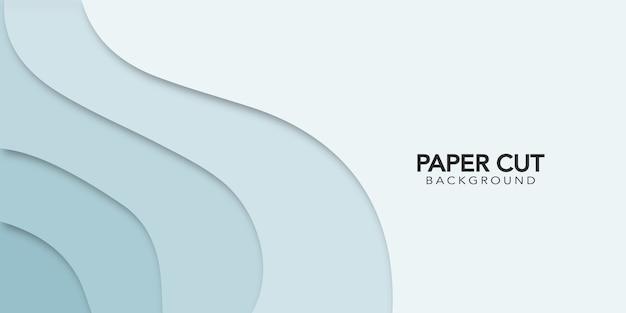 Абстрактный фон papercut