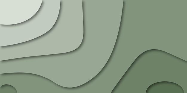 Абстрактный дизайн фона в стиле papercut.
