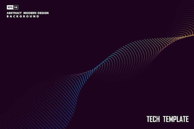 Abstract particle tech design artwork minimal design background.