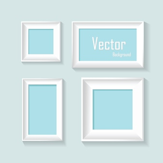 Абстрактные пастельные рамки дизайн вектор фон