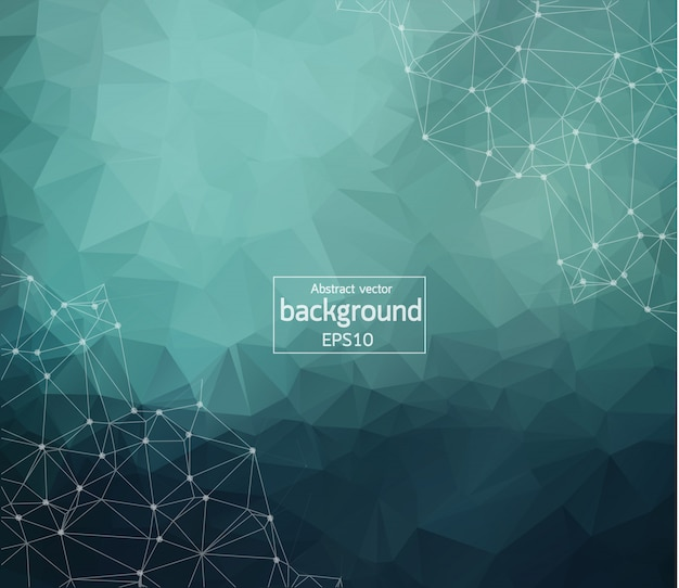Abstract pastel geometric polygonal background