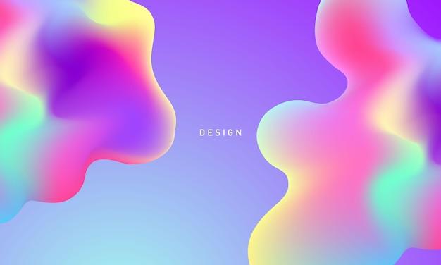 Абстрактный пастель жидкий градиент фона экология концепция