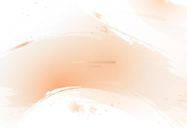 背景の抽象的なパステル水彩画。