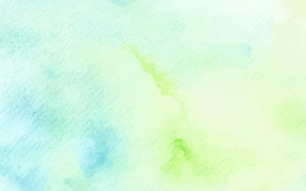 Abstract pastel watercolor green blue texture background
