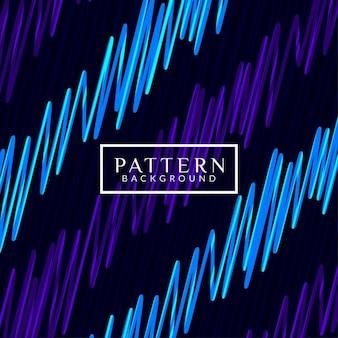 青と紫の抽象的なパターンの背景、