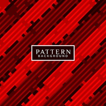 Abstract pattern background, red