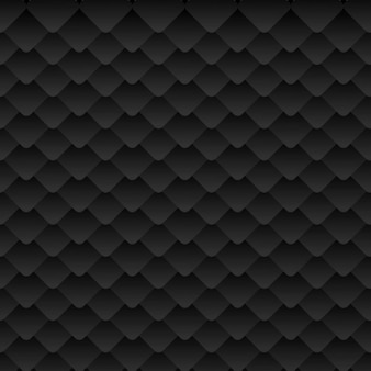 Abstract pattern in black color