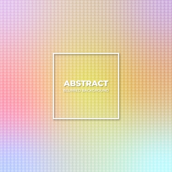 Abstract pattern and blurred gradient background