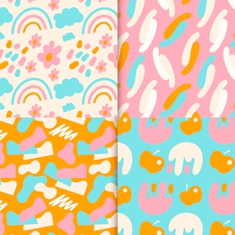 Abstract pattern collection concept