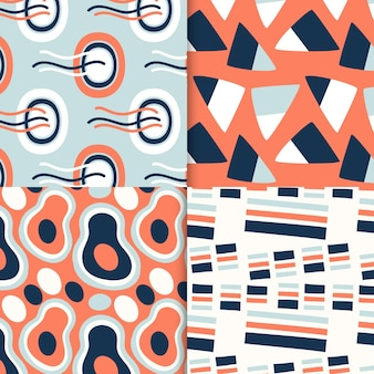 Abstract pattern collection drawing design