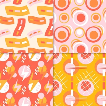 Abstract pattern collection drawing