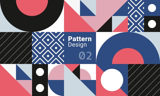 Abstract pattern design 02