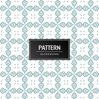 Abstract pattern design stylish classic background design Free Vector