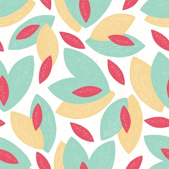 Abstract pattern leaf summer