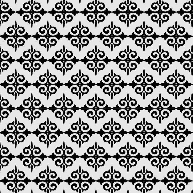 Premium Vector Abstract Pattern Seamless Fleur De Lis Ornament Spade Geometric Wallpaper