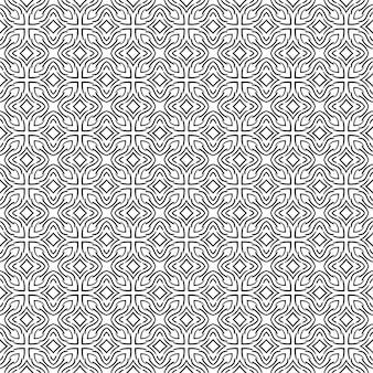 シームレスな抽象的なパターン。ベクトルの背景。幾何学的なデザインの飾り