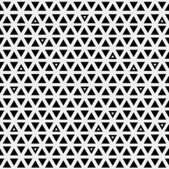 Modello astratto con triangoli neri