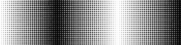 Abstract pattern with halftone effect