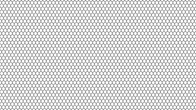 물결 모양의 메쉬와 추상 패턴