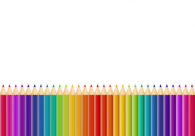 Abstract pencil background with copyspace