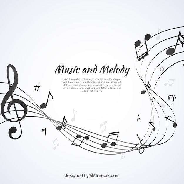 music vectors photos and psd files free download rh freepik com vector music logo vector music management