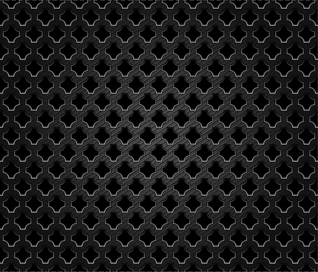 Abstract perforated metal dark background