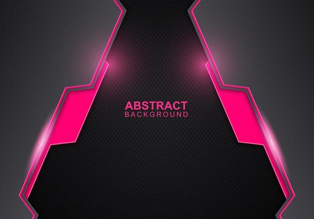 抽象的なピンクと青のグラデーションの円の形の背景。ベクトルイラスト。抽象的な背景。