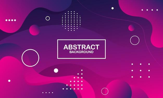 Абстрактный фон розовый и фиолетовый цвет. композиция динамических фигур