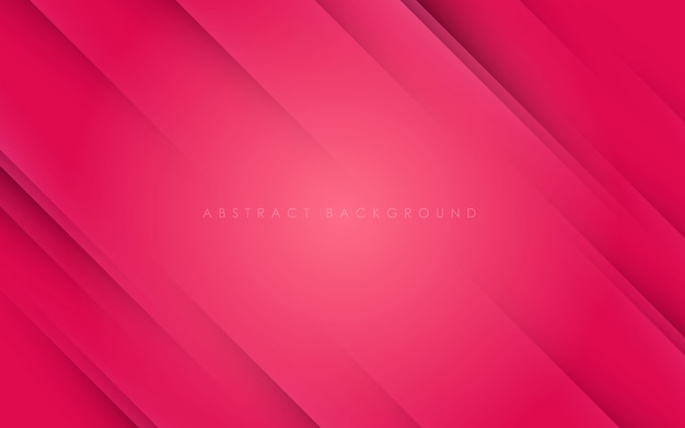 Abstract pink background diagonal papercut
