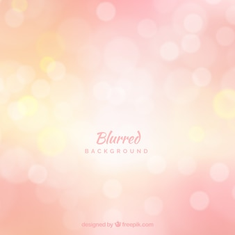 Abstract pink background with bokeh effect