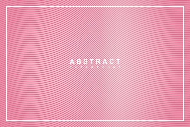 Abstract pink background with with wavy lines