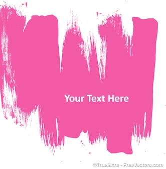 Abstract pink painting