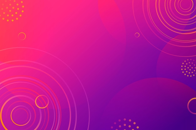 Abstract pink and purple background with circular shapes