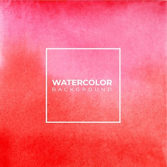 Abstract pink and red  watercolor background