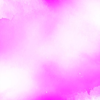 Abstract pink watercolor background design