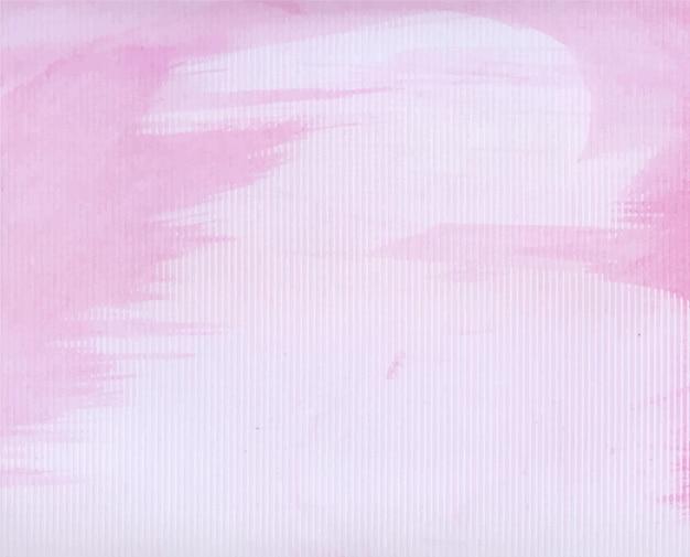 抽象的なピンクの水彩画の背景