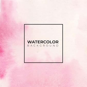 抽象的なピンクの水彩画の背景。