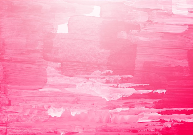 Abstract pink watercolor brush texture