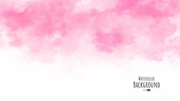 Абстрактные розовые акварельные текстуры фона
