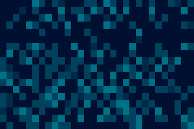 Abstract pixel rain screensaver