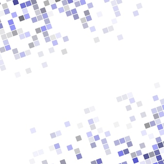 Abstract pixel square corner design background - vector illustration from rounded diagonal squares