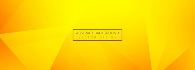 Abstract polygon banner background