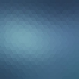 Abstract polygonal background in dark blue tones