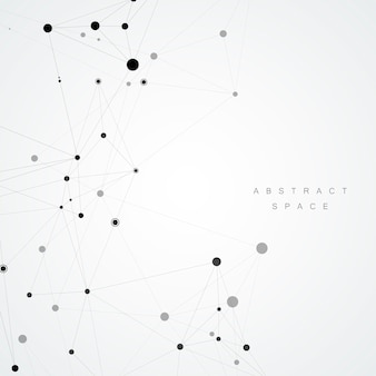 Abstract polygonal background, minimal style